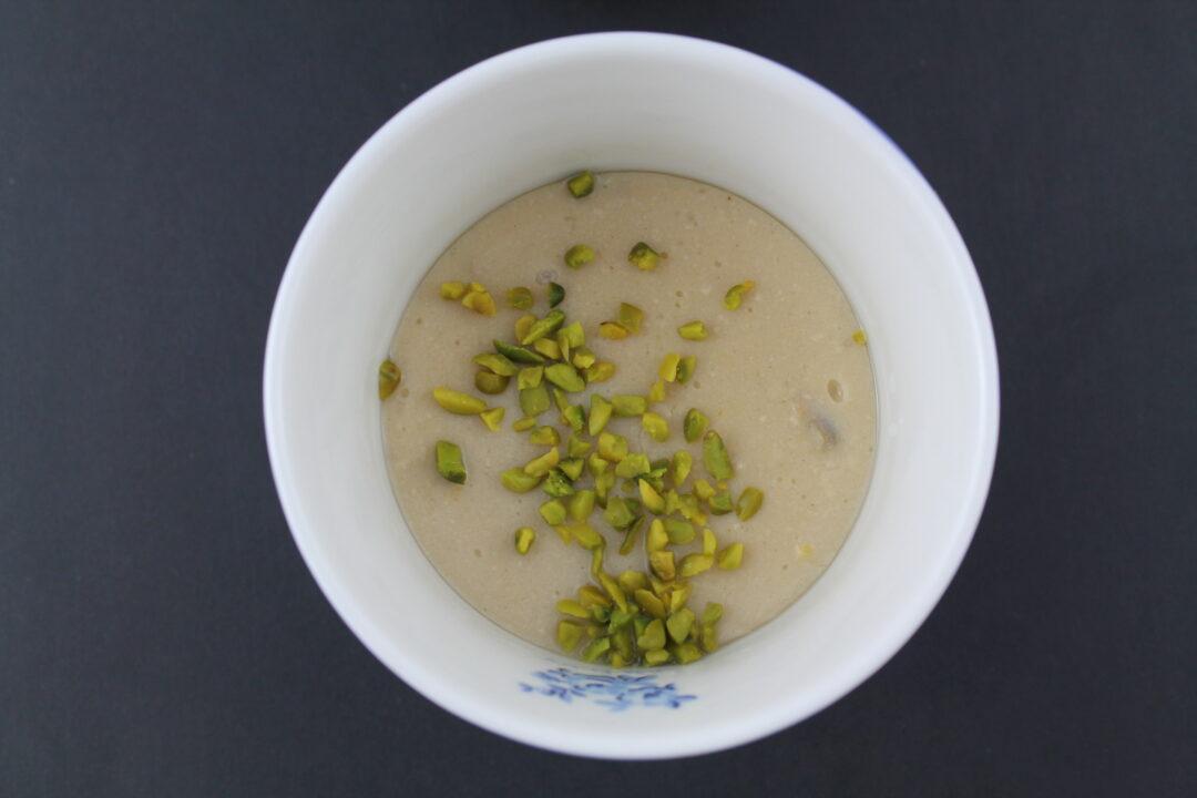 Orientalische Halva Pistazien Creme Munchner Kuche