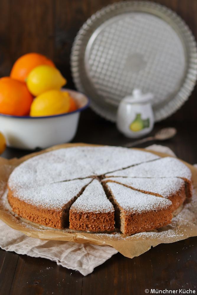 Mallorquinischer Mandelkuchen Munchner Kuche