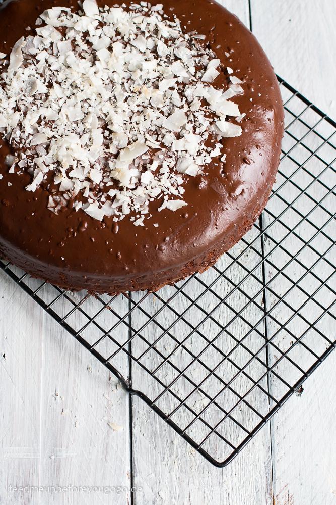 Schoko-Kokos-Kuchen aka Jamaica-Torte