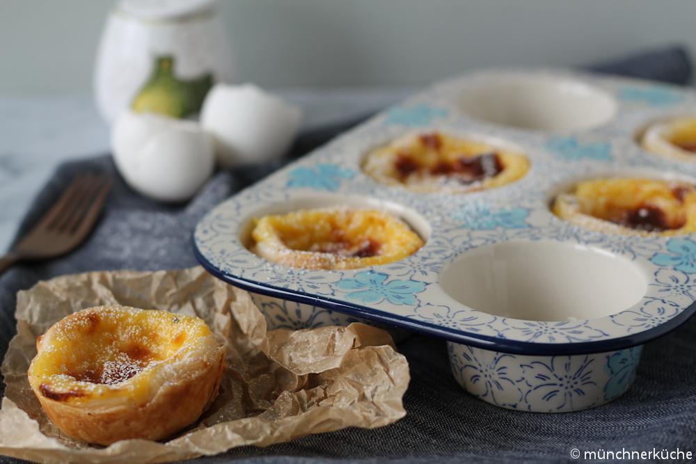 Pasteis de Nata sind eine Spezialität aus Portugal.