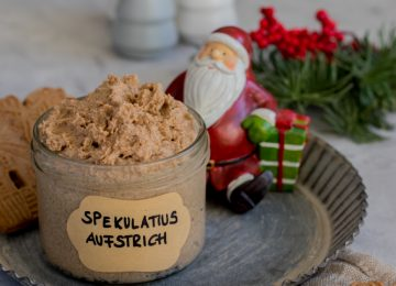 Ein super Weihnachtsgeschenk: Spekulatius Aufstrich.