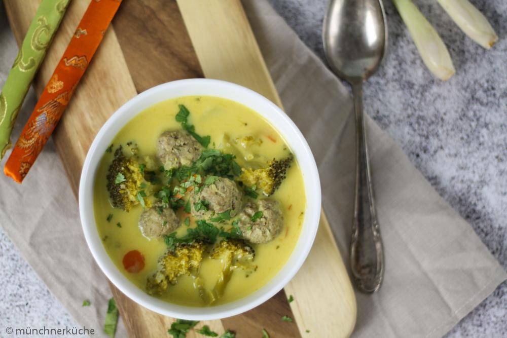 Eine schöne wärmende Suppe für die kalten Wintertage.