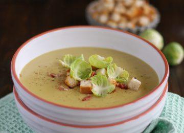 So mag Rosenkohl garantiert jeder: als feine Rosenkohlsuppe.