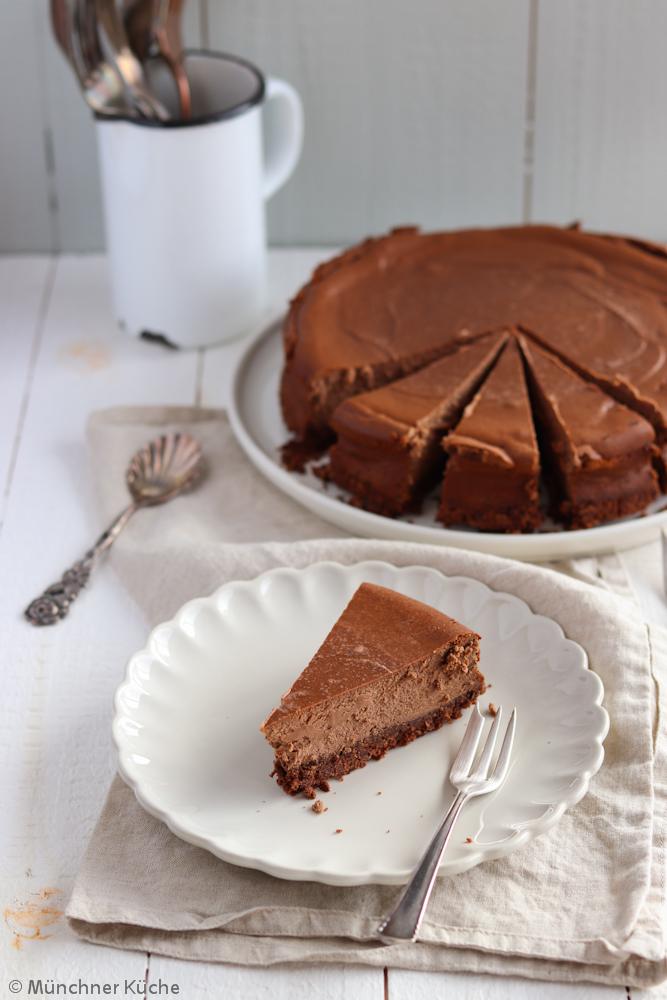 Schokoladen-Käsekuchen - münchner-küche