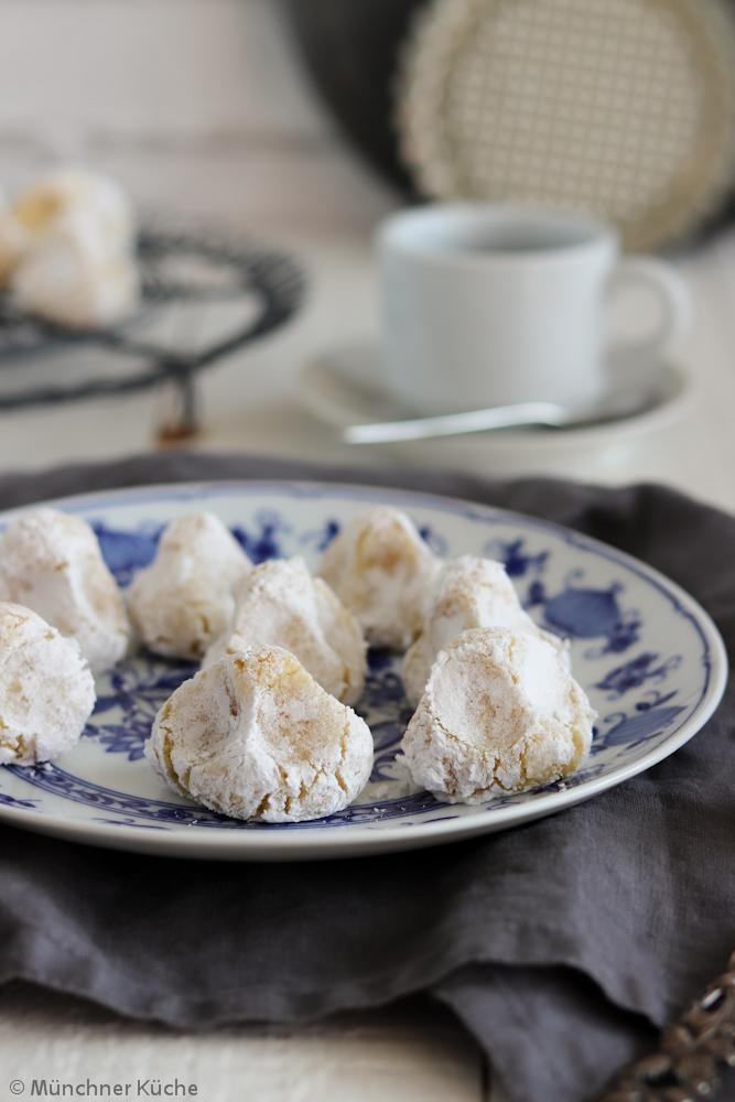 Feines sizilianisches Mandelgebäck. Auch Pasta di Mandorle genannt.