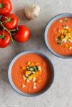 Gazpacho - kalte spanische Suppe.