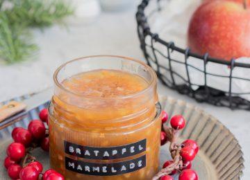 Bratapfelmarmelade - Weihnachtliches Geschenk aus der Küche