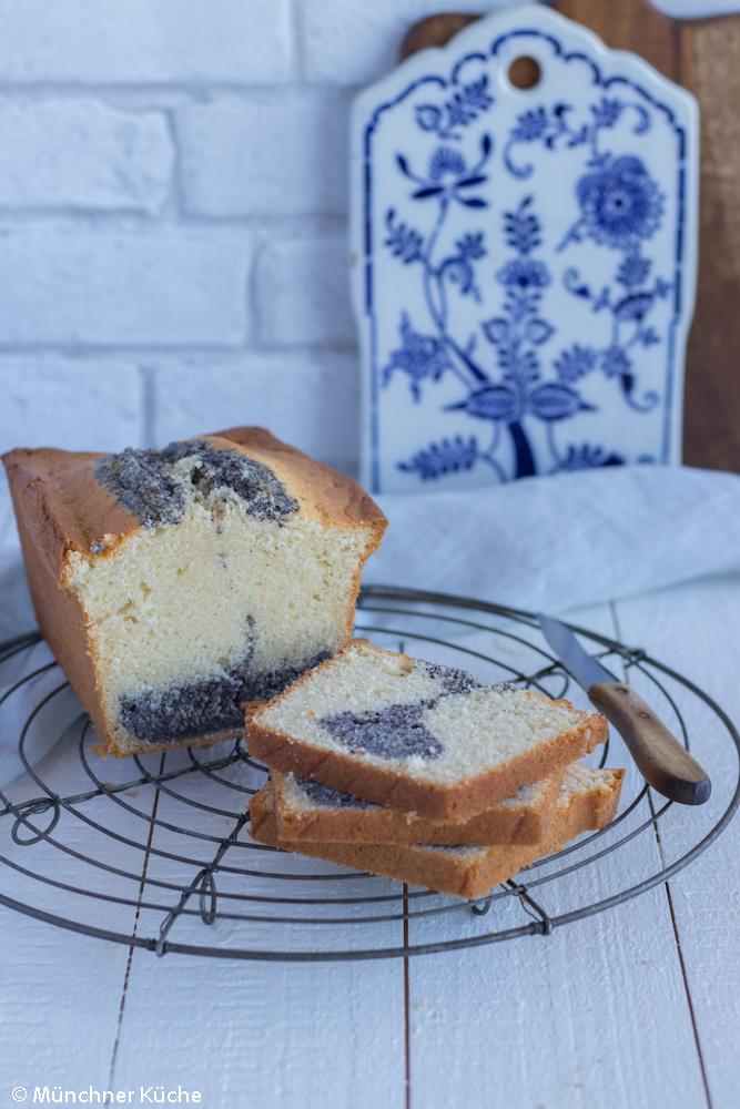 Schneller Rührkuchen: Mohnkuchen.