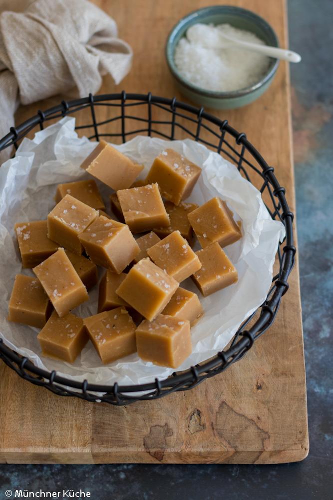 Das Peanut Butter Fudge lässt sich auch wunderbar verschenken.