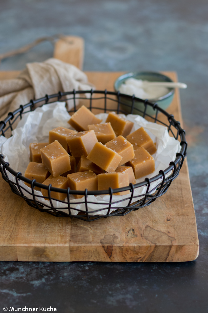 Super einfaches Peanut Butter Fudge.