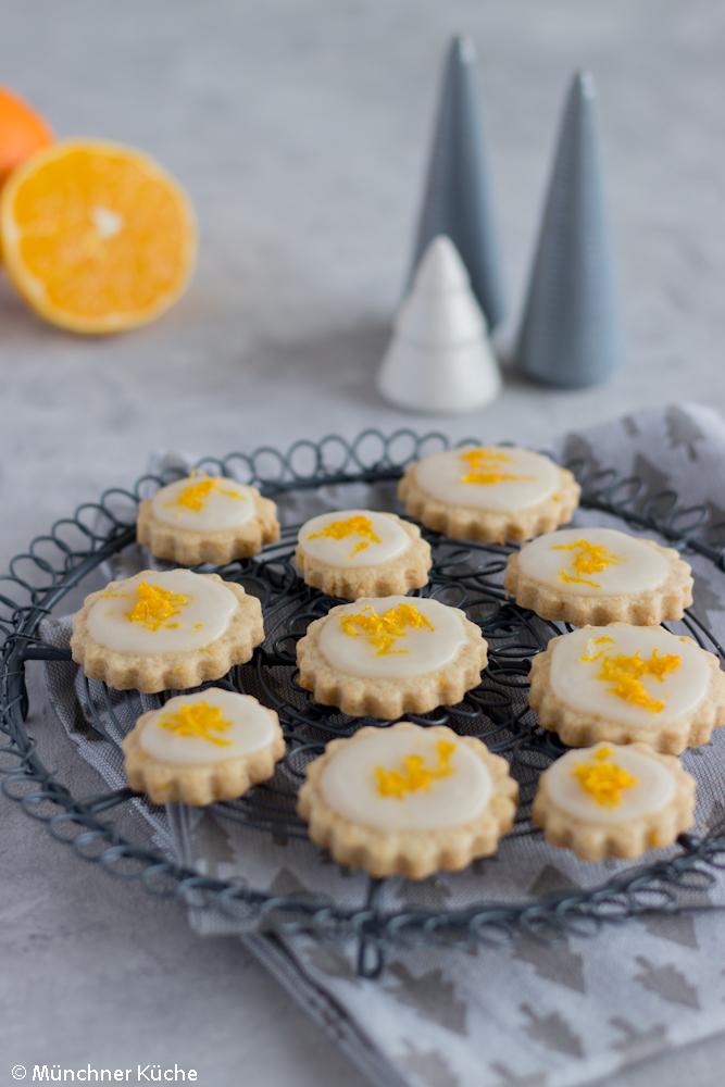 Orangen-Kardamom-Plätzchen